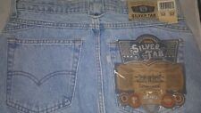 1990 Vintage Levi's Silvertab Made in USA Relaxed Fit 32x32 32W 32L rivets snaps