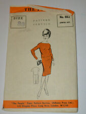 sewing pattern jumper suit vintage 60s