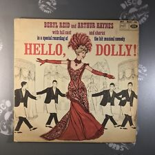 HELLO DOLLY•Cast Recording•MFP1066•Early MONO Pressing•Vinyl LP Record •VG+/EX-