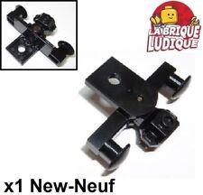 Lego 1x Train Eisenbahn Buffer Beam Magnets aimant tampon noir 29085c01 NEUF