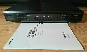 Sony ST-SE500 Stereo RDS AM / FM Radio Tuner HiFi Separate