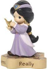 Precious Moments Disney Jasmine Figurine Dreams Really Do Come True, New 171462