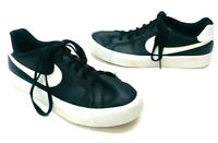 Nike Women's Court Royale Casual Sneakers - Black/White - Size 8.5