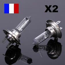 LOT 2 Ampoules Halogène H7 12V 55W Auto Voiture Phares Lumière Ultra Blanche 48h