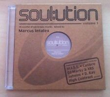 MARCUS INTALEX ‎– Soul:ution Volume 1 CD NEW Drum & Bass DJ Marky Liquid Funk