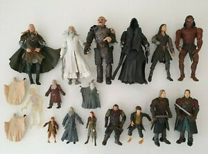 FIGURES FIGURINES LOT LOTR LORD OF THE RINGS SEIGNEUR DES ANNEAUX NO STAR WARS