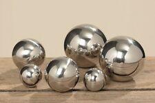 Deko Kugel Set Galaxy 3-6 teilig Metall silberfarben Dekoration Tischdekoration