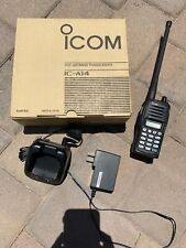 ICOM IC-A14 118-136 MHz VHF Airband Transceiver w/charger
