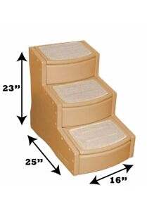 PET GEAR - 3 STEPS PET STAIRS - RAMP - BRAND NEW IN BOX - CAN COLLECT LIVERPOOL
