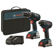 Bosch CLPK244A-181  18V Li-Ion Hammer Drill and Impact Driver Combo Kit NEW !!!!