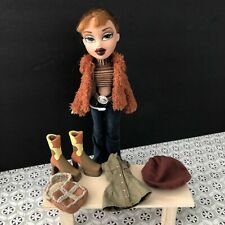 "Bratz 10/"" Doll Clothes Meygan/'s Original Xpress It Brown Bag With Faux Fur Trim"