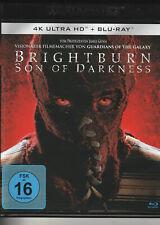 BRIGHTBURN - SON OF DARKNESS 4K UHD + BLU RAY (James Gunn) Superhero Horror !