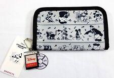 Disney Harvey's Steamboat Willie Mickey Classic Wallet Clutch Seatbelt Bag Nwt