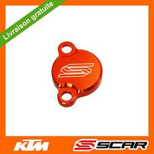 COUVERCLE MAITRE CYLINDRE FREIN ARRIERE ORANGE KTM 50 65 85 105 SX FREERIDE SCAR