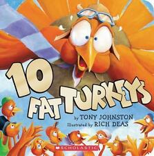 10 Fat Turkeys - Paperback Book - NEW!
