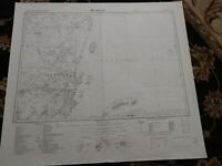 1962 Map of Belize British Honduras Mexico Islas de la Bahia