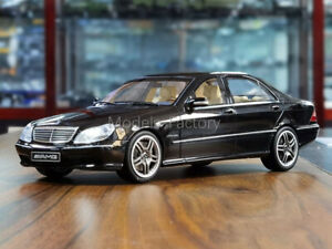 Mercedes-benz clase m azul oscuro casi negro SUV w166 2011-2015 1//18 minicham