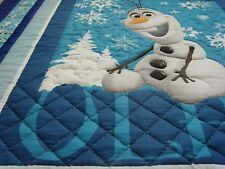 "Handmade Patchwork Panel Quilted / Throw - 60"" x 50"" - The Olaf"