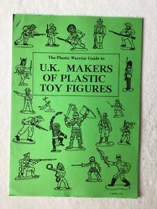 Plastic Warrior magazine, 93, UK Makers of Plastic Toy Figures , A4 size 20pgs.