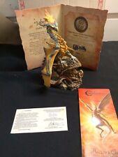 "Rare Collector Holland Studio Craft Enchantica ""Jabel"" Dragon 0137 of 3950 Lot 7"