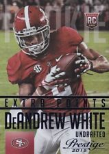 Deandrew White (Rookie) 2015 Prestige Football Trading Card, Extra Points (Blue)