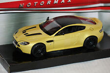 Aston Martin V12 Vantage S gelb 1:24 Motormax neu & OVP MM79322yl