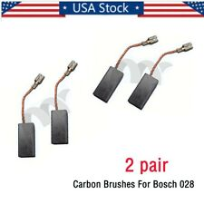 2 pair Carbon Brushes For Bosch 028 Gws 6-100, Gws 9-125C, Gnf 65A, Gsf 100A