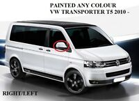 New VW TRANSPORTER T5 T6 2010-on RH/LH SIDE WING MIRROR COVER PAINTED ANY COLOUR