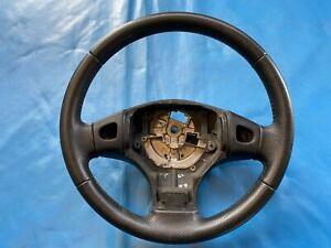 MG ZR Black Leather Steering Wheel (Part #: QTB000580)