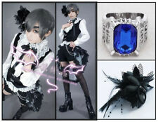 Black Butler Ciel Phantomhive Kuroshitsuji Circus Cosplay Costume Uniform Set