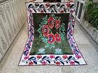 Vintage Handmade Moroccan Azilal Rug Beni Ourain Rug Berber Tribal Carpet