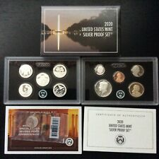 2020 SILVER Proof Set  11 coin with W Nickel Reverse Proof