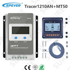 EPEVER Tracer2210AN 20A MPPT Solar Charge Controller Regulator 100V+ MT50