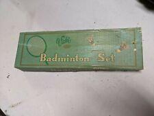 VINTAGE NEW OLD STOCK VICKI CROWN CHAMPION BADMINTON SET 1950's?