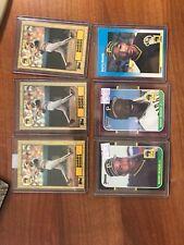 1987 Barry Bonds (6) Rookie Lot. Fleer, Donruss, Donruss Opening Day, Topps (3)