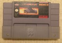 Top Gear SNES Super Nintendo Racing Game. CLEANED, TESTED & WORKS AUTHENTIC