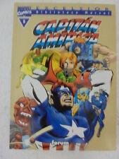 Biblioteca Marvel,Capitan America num.5 Forum