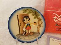 Disney Collectible - Pinocchio Mini 3-D Plate (Schmid) Limited Edition