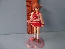 "To Heart 2 Manaka Komaki 4""in Figure Cute Schoolgirl w/ short hair closed eyes!"