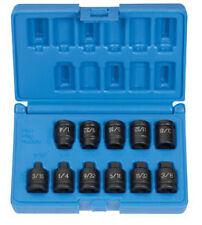 "Grey Pneumatic 11pc 3/8"" dr Square Pipe Plug Impact Socket set!  #1211P"