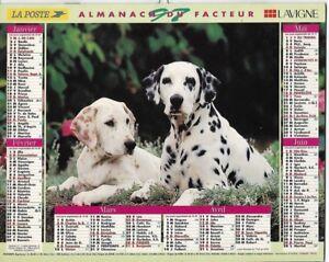 Almanach 1997 Calendrier de la poste PTT - HAUTE-SAONE 70  & Ter. de BELFORT 90
