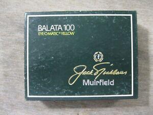 1 Dozen MacGregor Jack Nicklaus Signature Muirfield Golf balls New in Box