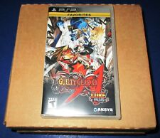 Lot of 12 (Sealed Case) Guilty Gear XX: Accent Core Plus Sony PSP *Free Ship!