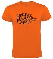 Camiseta Creedence Clearwater Revival Hombre varias tallas y colores a103