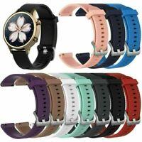 18mm Silikon Armband Uhrenarmbänder Zubehör Weich für Ticwatch C2 Smartwatch