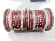 Chuda Bridal Chura Punjabi Choora Bangle Set Traditional Designer Red Dulhan