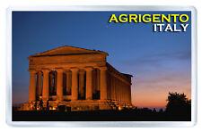 AGRIGENTO ITALY MOD3 FRIDGE MAGNET SOUVENIR IMAN NEVERA
