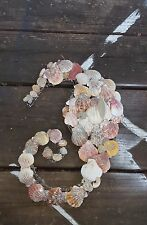 handcrafted seashell seahorse