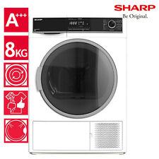 Wäschetrockner Trockner Wärmepumpentrockner A+++ Sharp KD-HHH8S8GW3-DE 8kg