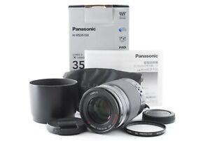 Panasonic LUMIX G X VARIO 35-100mm F/2.8 POWER O.I.S Lens Box From Japan [Exc